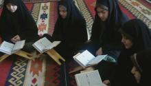 <p>امروز جشن قرآن برگزار کردیم...</p>